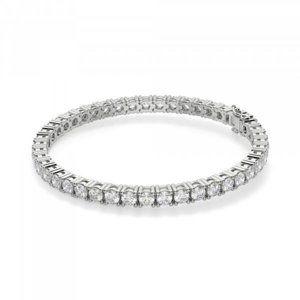 Round cut 5.30 carats sparkling diamonds Tennis br